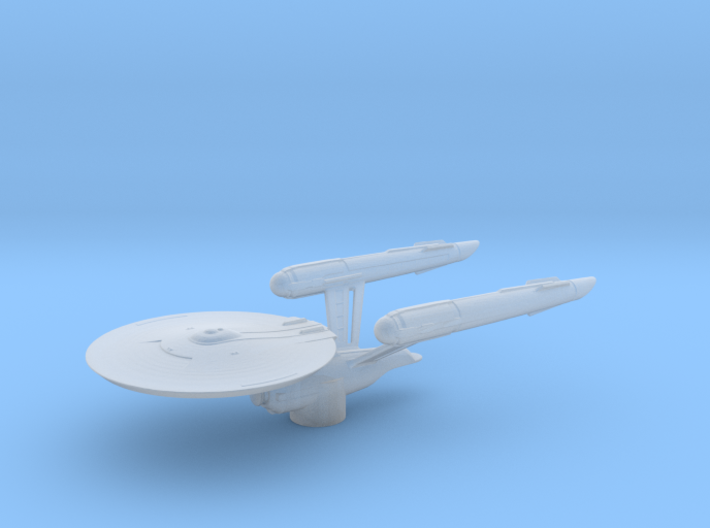 USS Enterprise (Discovery) - Attack Wing / 5.5cm - 3d printed