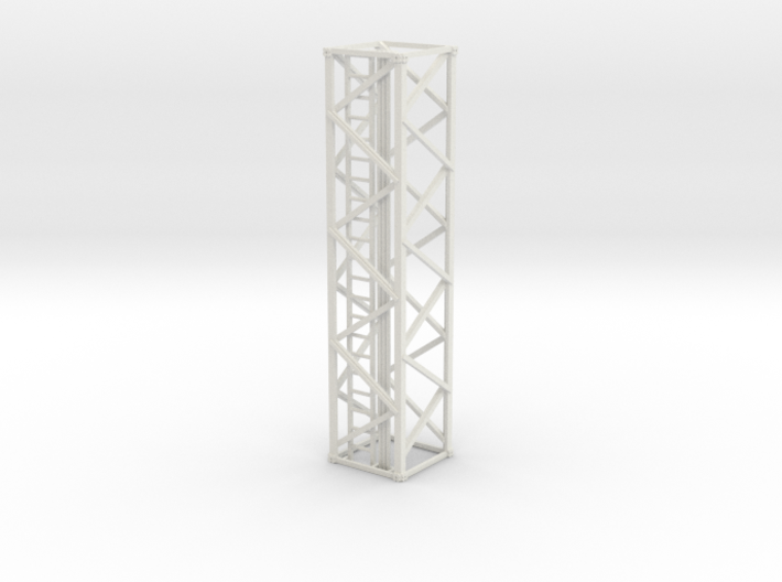 Light Tower Middle 1-87 HO Scale 3d printed