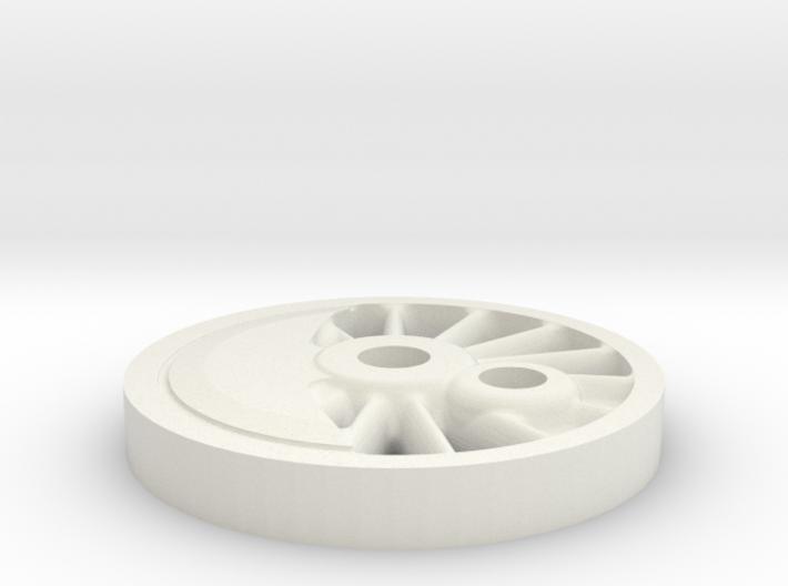drivhjul H2-maskine H0 SLDPRT 3d printed