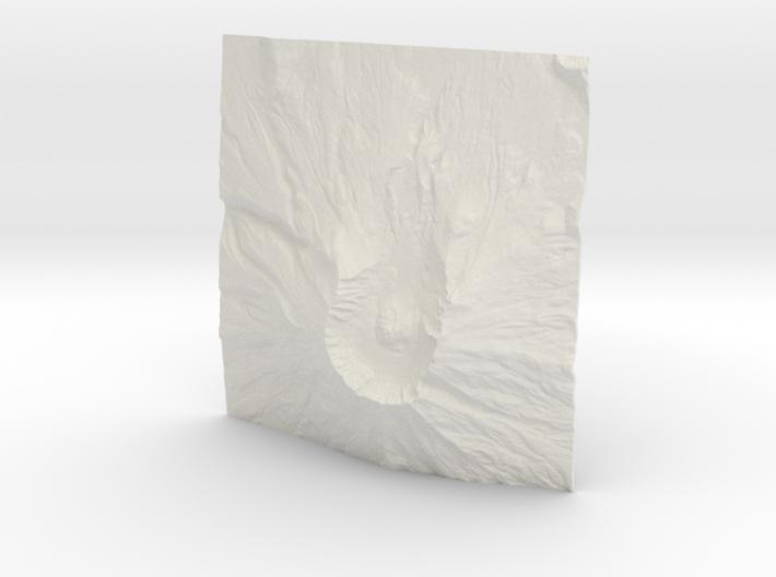 3'' Mt. St. Helens, Washington, USA 3d printed