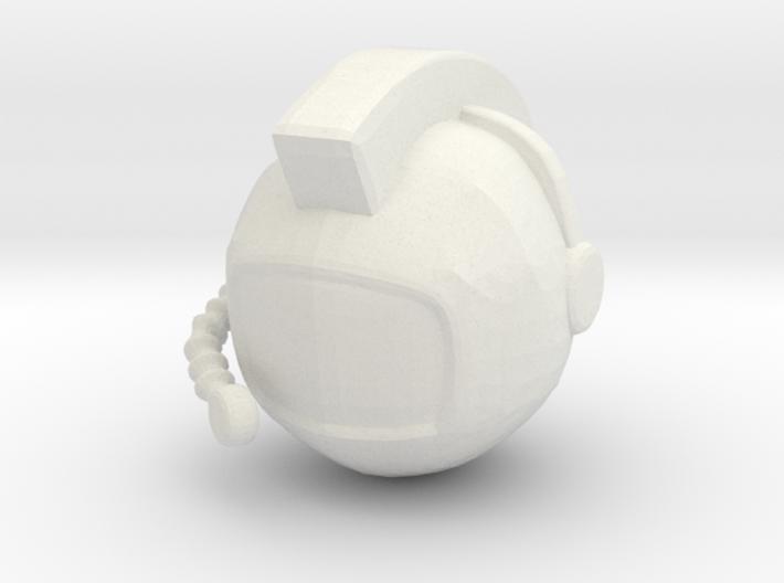 SpaceHelmetv1 3d printed
