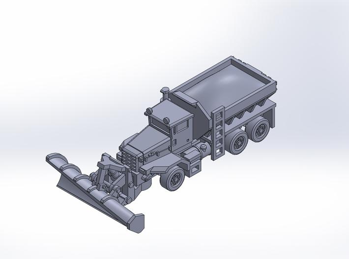 OK P 3axle snow plow deicer rev2 3d printed