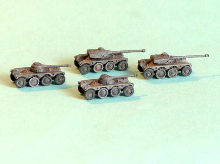 EBR 75 Heavy Scout Car 1/285 6mm 3d printed Add a caption...