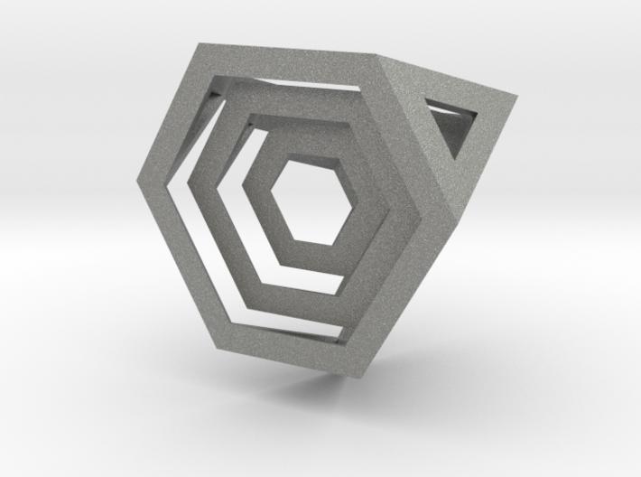 Encompassing Tetrahedron - Pendant 3d printed