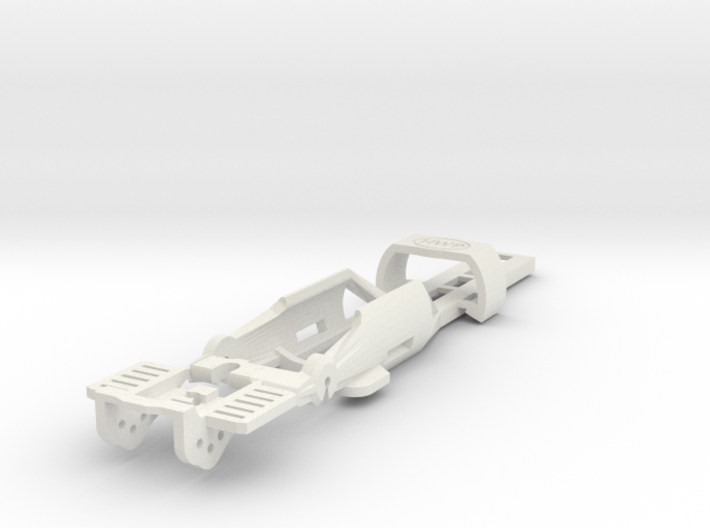 HO Slot Car Chassis - SL2-Mk4 release 3d printed