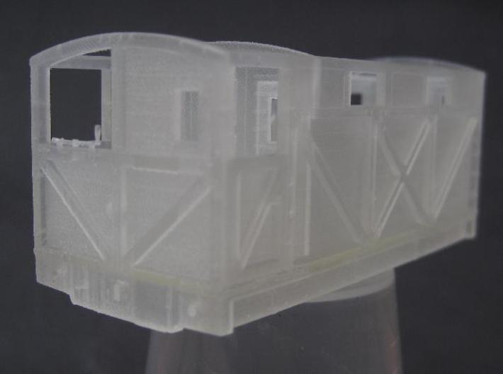 NSR 20ton Cravens Brake Van body - 4mm scale 3d printed FUD print b