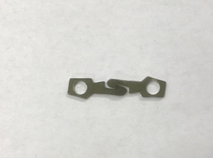 HO scale 1/87 Miller coupler 2 pairs 3d printed