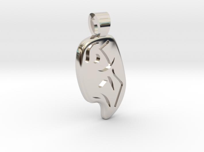 Climbing [pendant] 3d printed