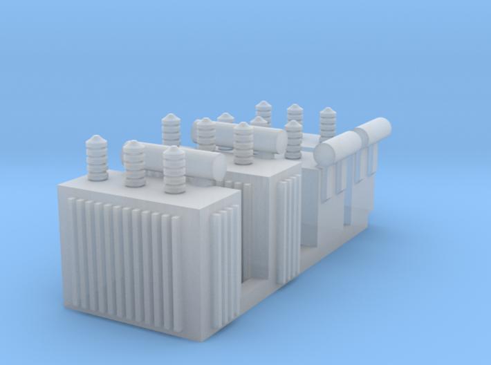 N 4x Distribution Transformer 3d printed
