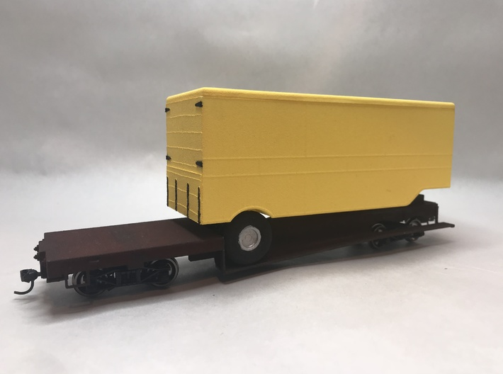 ET&WNC Trailer O Scale 3d printed