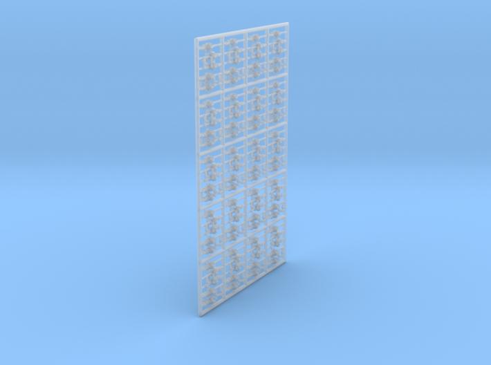 1/144 Vickers K GO Set401 3d printed