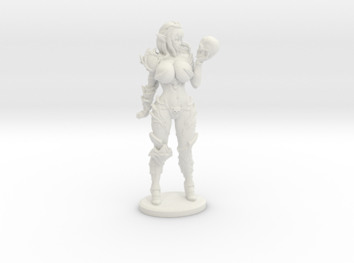 Dark Queen BUSTY VARIANT Mini - 40mm 3d printed
