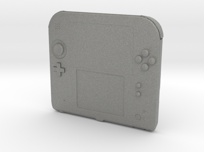 1/3rd Scale Nintendo Type DS2 Game Console 3d printed