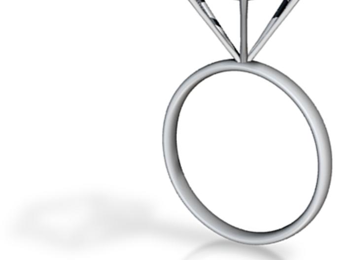 Diamond Ring - size 10 3d printed