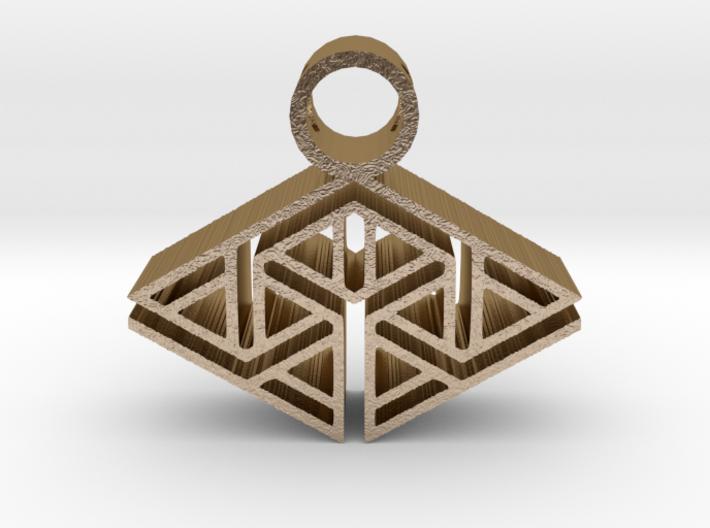 tribal pendant 12 3d printed