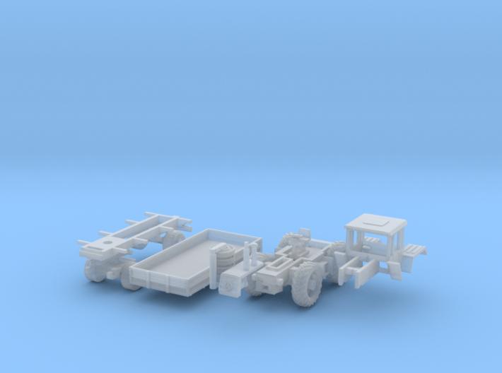 SET MB Trac 1300 & Anhänger (N 1:160) 3d printed