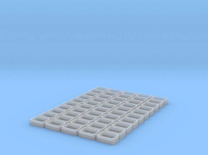 50x Obstkiste (N=1/160) # 3d printed