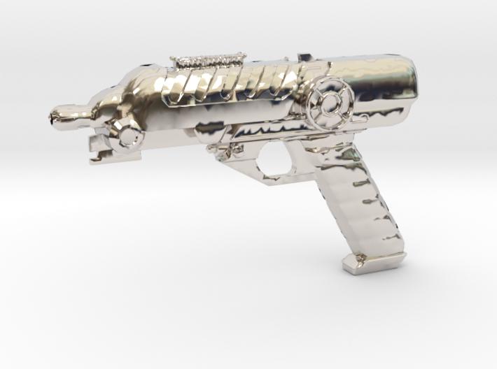 Scifi Blaster Z aprox 1:12 3d printed