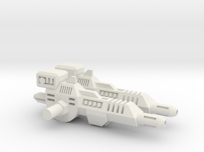 TF CW Groove Motorcycle Cannon Set 3d printed