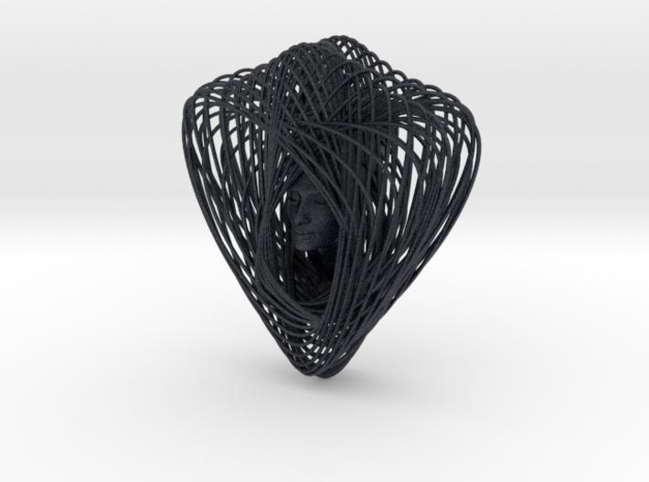 Celtic Knot Curve Art + Nefertiti (001c) 3d printed