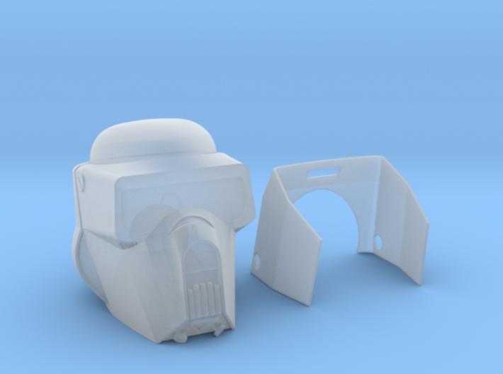 "Scout trooper (Kashykkk) Helmet for 6"" 3d printed"