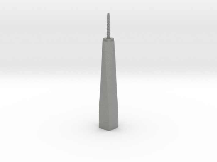 One World Trade Center - New York (1:6000) 3d printed