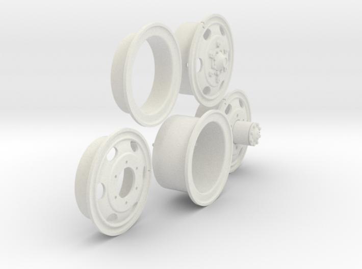 1/6 900x20 M35 Wheels Sample Set06 3d printed