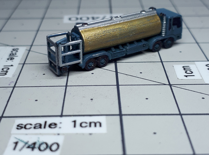 EuroTruck v2 Fuel 4axle 3d printed