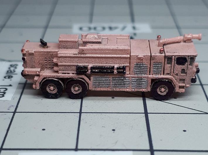 OK T3000 6x6 ARFF Fire Truck 3d printed