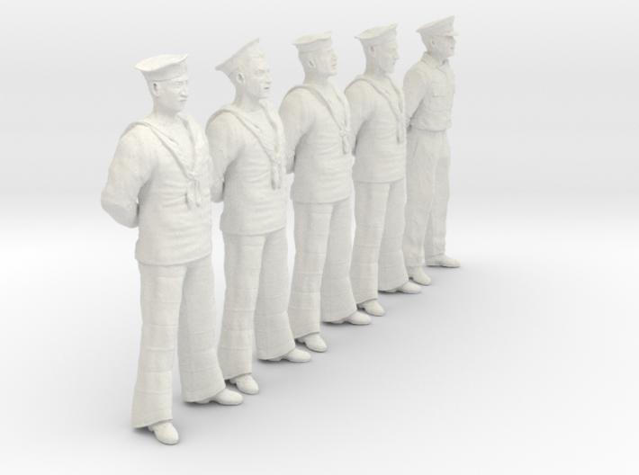 1/24 RN Seamen Rest Set101-12 3d printed
