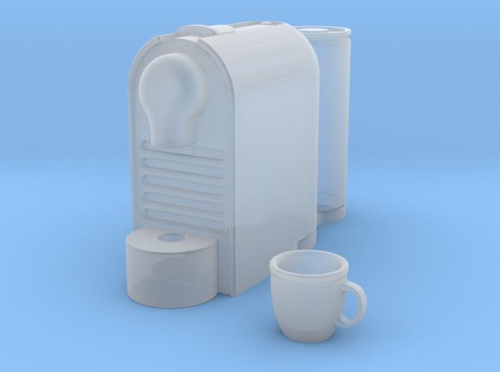Coffee Machin 1:6 scale 3d printed