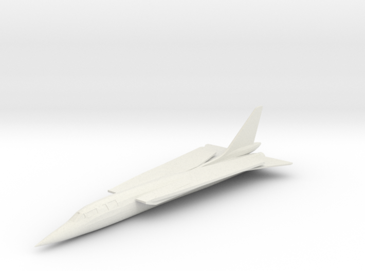 Republic TFX Fighter Proposal 3d printed