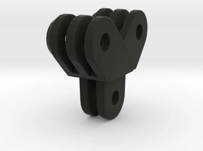 gopro angled double extension 3d printed