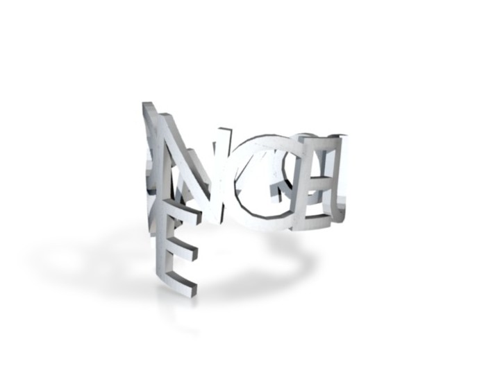 Ring Poem-ONCE UPON A TIME 3d printed