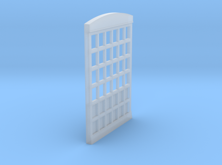 HO Scale Firehouse Door 3d printed