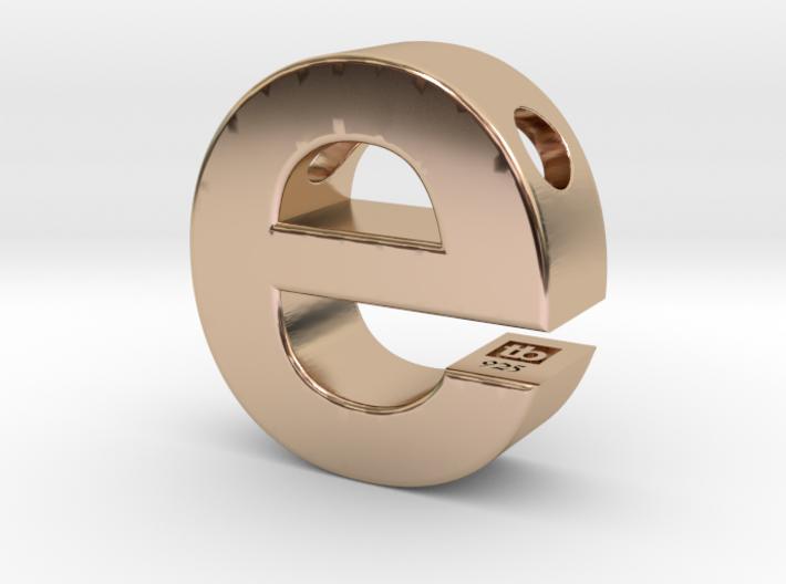 Typeberlin E Pendant 3d printed