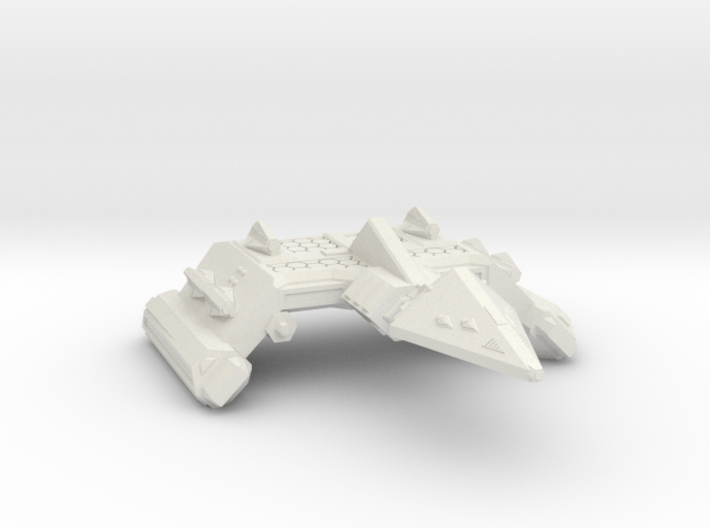 3788 Scale Neo-Tholian Battleship (NBB) SRZ 3d printed
