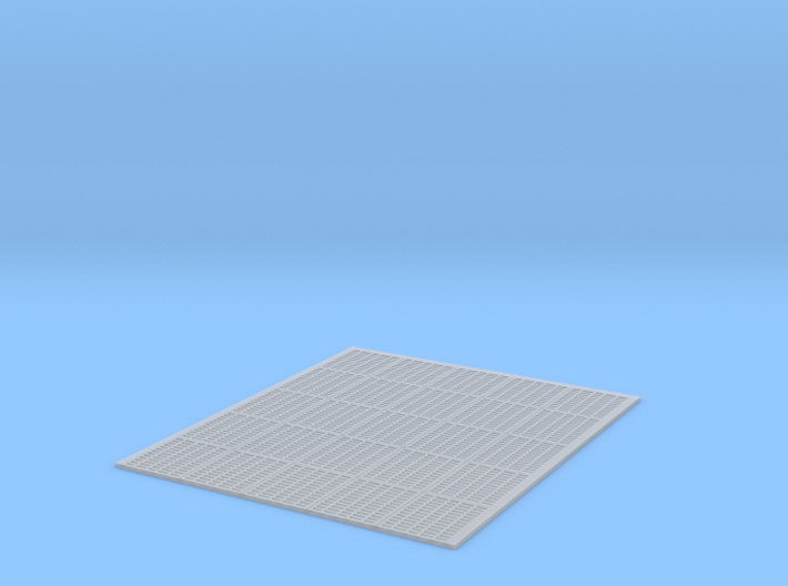 YT1300 MPC CUTAWAY HOLD FLOOR GRILLE B 3d printed
