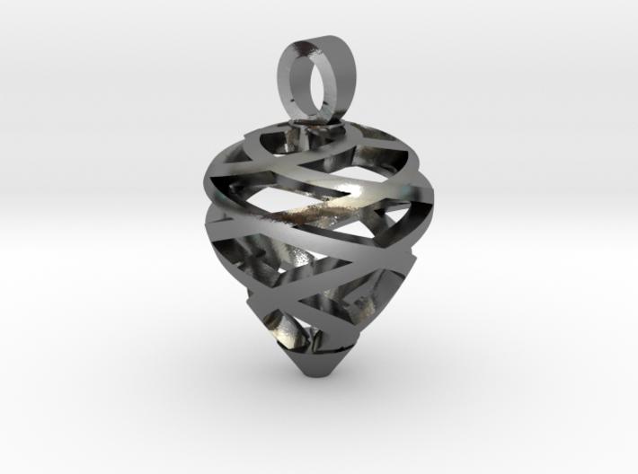 Pine cone [pendant] 3d printed