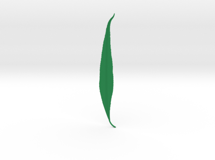 Willow tree leaf 3d printed