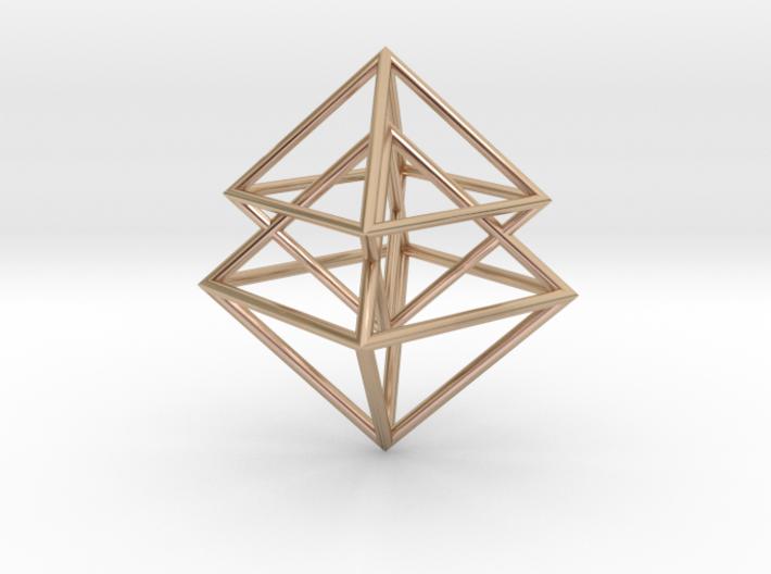 Pyramidal 3d printed