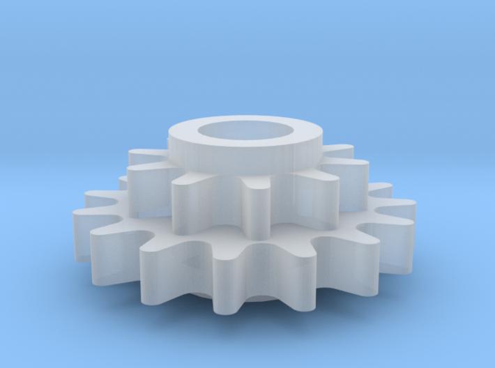 Replacment N Gauge Minitrix 9F Drive Gear 3d printed