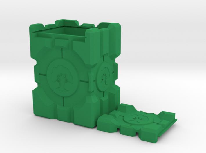 Companion Crate Portal Themed M:TG Deckbox -- Gree 3d printed