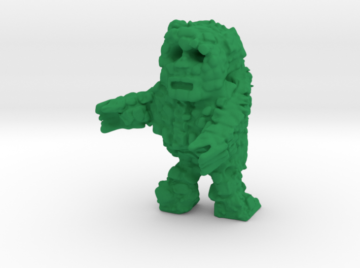 Rock Monster (28mm Scale Miniature) 3d printed