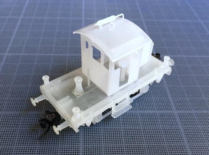 1:87 Locotracteur Berliet 3d printed