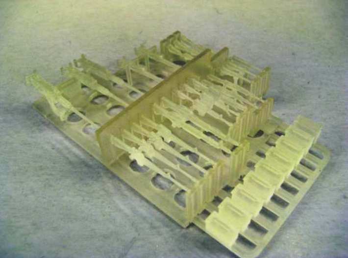 1:72 Weapons Collection (32 pcs.) 3d printed Complete weapons sprue straight from the 3D printer