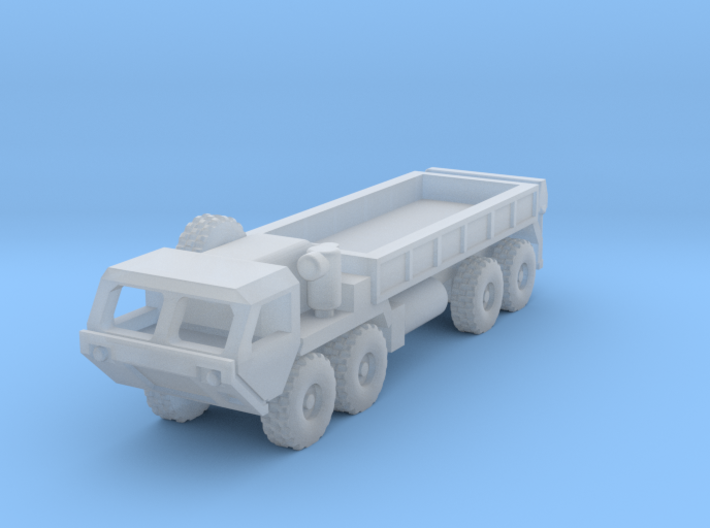 HEMTT Cargo Truck And Tanker Convoy 3d printed HEMTT M985 in 1/700th and 1/600th scales