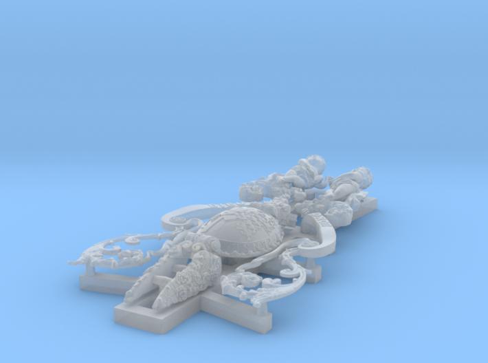 1:96 HMS Victory Figurehead 3d printed