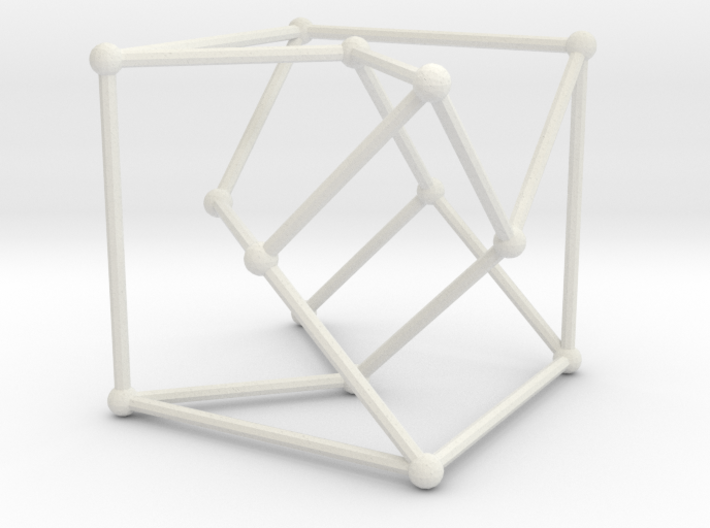 Heawood graph 3d printed