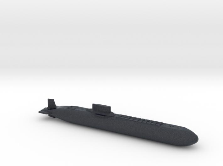 Typhoon Class Sub, Full Hull, 1/2400 3d printed